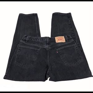 Levi's 550 Vintage Relaxed Fit Washed Black Jeans